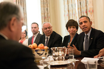 Valerie Jarrett Barack Obama Discusses Brother's Keeper Initiative