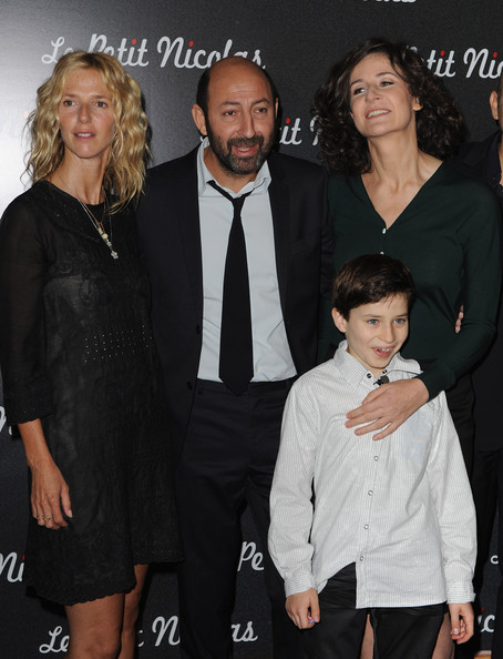 """Le Petit Nicolas"" Paris Premiere [le petit nicolas,paris premiere,film,event,premiere,suit,little black dress,formal wear,style,kad merad,actresses,sandrine kiberlain,valerie lemercier,paris,france,premiere]"