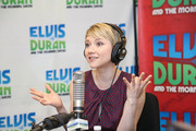 Valorie Curry Visits a Radio Morning Show