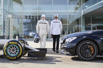 Valtteri Bottas PETRONAS Global Research And Technology Centre Preview