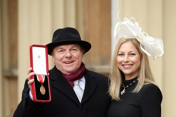 Van Morrison Investitures at Buckingham Palace