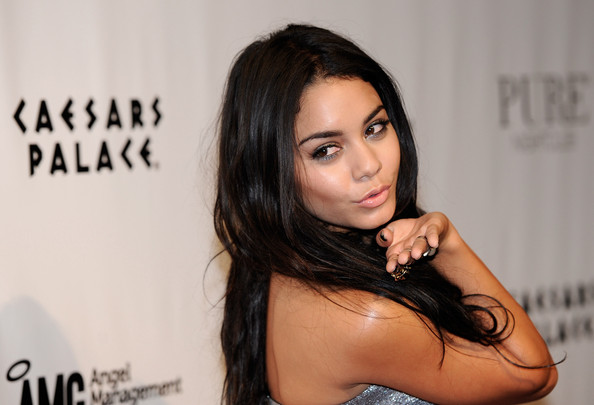 Vanessa Hudgens Celebrates Her 22nd Birthday At Pure Nightclub At Caesars