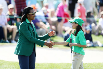 Vanessa Borovilos Drive, Chip, And Putt Championship At Augusta National Golf Club