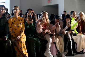 Vanessa Hong Self-Portrait - Front Row - February 2019 - New York Fashion Week