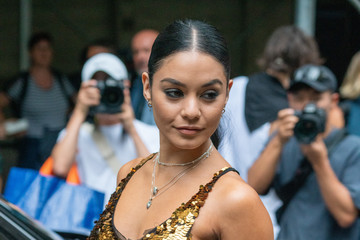 Vanessa Hudgens Street Style - New York Fashion Week September 2019 - Day 6
