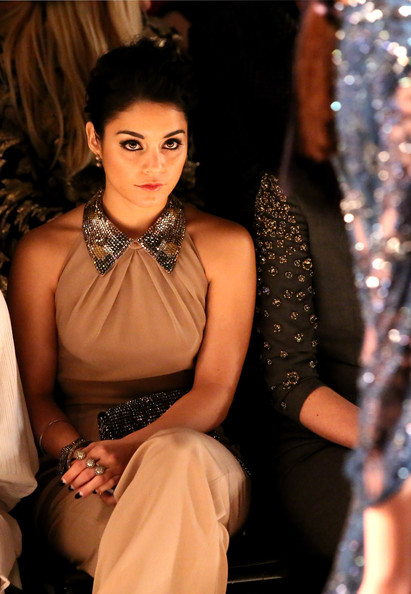 Vanessa Hudgens - TRESemme At Jenny Packham - Front Row - Fall 2013 Mercedes-Benz Fashion Week