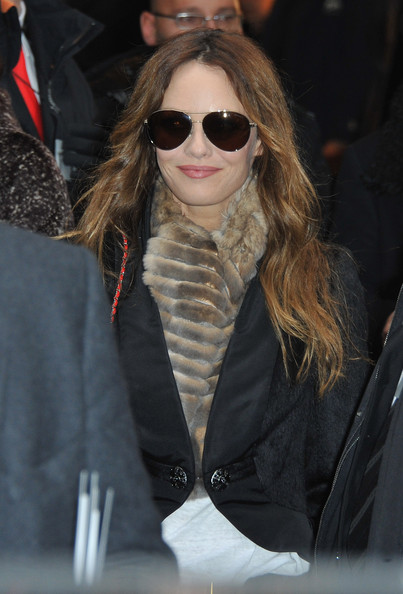 Vanessa Paradis Vanessa Paradis arrives at Pavillon Cambon to attend the Chanel show as part of the Paris Haute Couture Fashion Week Spring/Summer 2011 at Pavillon Cambon Capucines on January 25, 2011 in Paris, France.