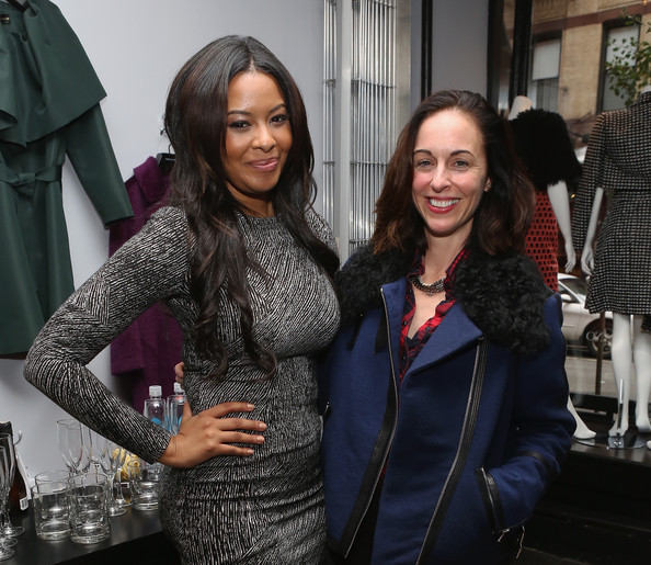 'Project Runway: Threads' Premiere [vanessa simmons celebrate the premiere of lifetime,project runway: threads,fashion,fashion design,event,outerwear,haute couture,style,christian siriano,vanessa simmons,gina kelly,christian siriano boutique,lifetime,l,all new fashion series,premiere]