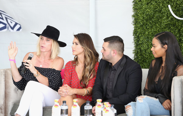 SIMPLY Los Angeles Fashion + Beauty Conference Powered by NYLON at The Grove [event,fashion,beauty,party,fashion design,liqueur,leisure,fashion accessory,drink,michael costello,amber farr,audrina patridge,vanessa simmons,nylon,tv personality,l-r,the grove,los angeles,los angeles fashion beauty conference]