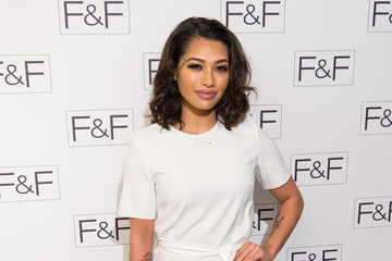 Vanessa White F&F AW15 Arrivals And Show