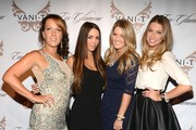 Vani-T CEO and Founder, Tania Walsh, Scheana Marie, Pandora Vanderpump and Stassi Schroeder attend the Vani-T Launch Party at Bagatelle on January 17, 2013 in Los Angeles, California.