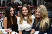 Scheana Marie, Stassi Schroeder and Pandora Vanderpump attend the Vani-T Launch Party at Bagatelle on January 17, 2013 in Los Angeles, California.