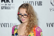 Artist Olek attends Vanity Fair And Cadillac Toast The Artists Of Wynwood Walls at Wynwood Kitchen & Bar on December 4, 2013 in Miami, Florida.