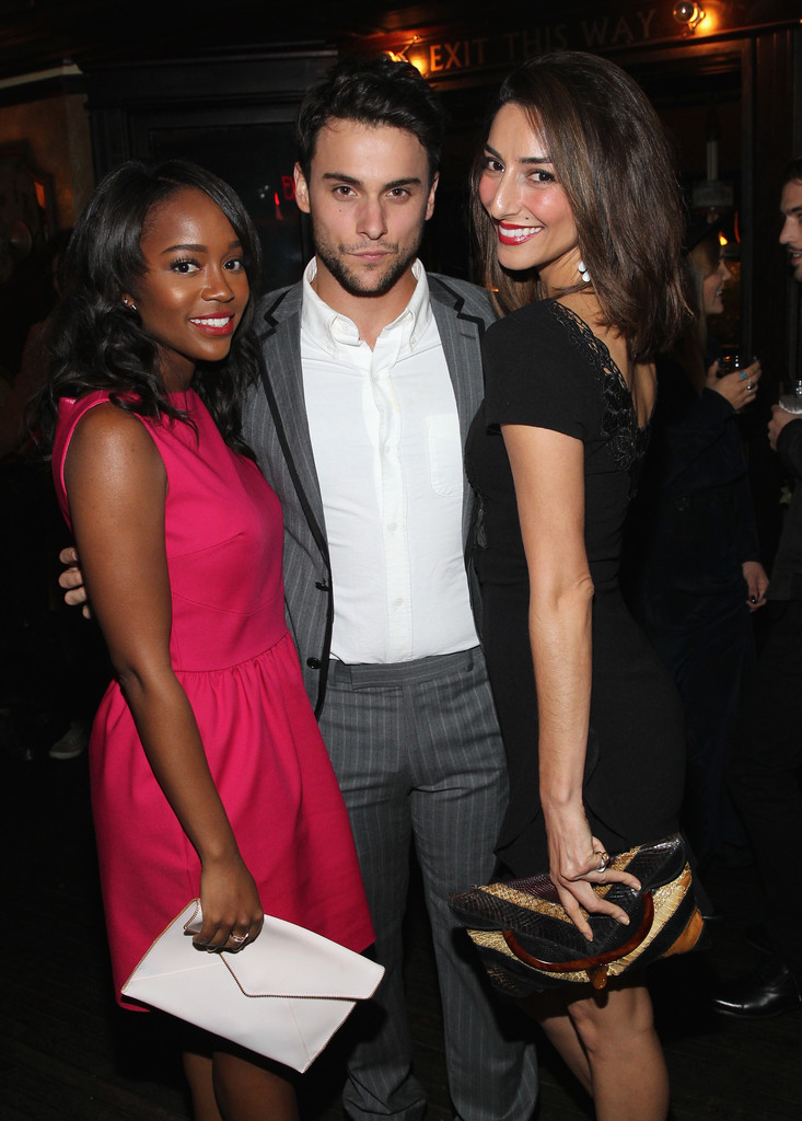 Jack Falahee And Aja Naomi King Photos Zimbio