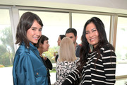Nina Dobrev (L) and Beauty Director Vanity Fair USA SunHee Grinnell attend Vanity Fair and Fashion Designers Jack McCollough and Lazaro Hernandez Celebrate the Launch of Proenza Schouler's First Fragrance, Arizona on March 2, 2018 in Beverly Hills, California.