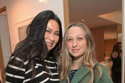 Beauty Director Vanity Fair USA SunHee Grinnell (L) and Jennifer Meyer attend Vanity Fair and Fashion Designers Jack McCollough and Lazaro Hernandez Celebrate the Launch of Proenza Schouler's First Fragrance, Arizona on March 2, 2018 in Beverly Hills, California.