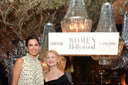 (L-R) Radhika Jones and Patricia Clarkson attends Vanity Fair and Lancôme Toast Women in Hollywood on February 06, 2020 in Los Angeles, California.
