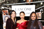 (L-R) Vanity Fair Editor-in-Chief Radhika Jones, Zendaya, Ava DuVernay attend Vanity Fair and Lancôme Toast Women In Hollywood on February 21, 2019 in West Hollywood, California.