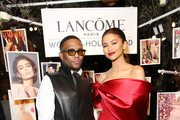 (L-R) Law Roach and Zendaya attend Vanity Fair and Lancôme Toast Women In Hollywood on February 21, 2019 in West Hollywood, California.