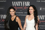 Demi Moore and Rumer Willis attend the Vanity Fair and Annenberg Space for Photography's Celebration of The Opening of Vanity Fair: Hollywood Calling, sponsored by The Ritz-Carlton on February 04, 2020 in Century City, California.