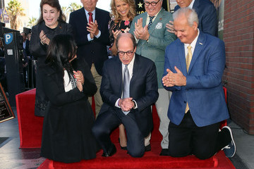 Vanna White Harry Friedman Honored With A Star On The Hollywood Walk Of Fame