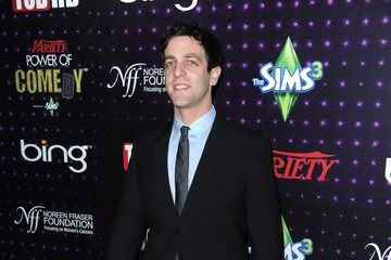 B.J. Novak Variety's 1st Annual Power Of Comedy Event - Arrivals