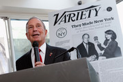 """Mayor Michael Bloomberg speaks at Variety's """"New York: Capital Of Content"""" during the 2013 Tribeca Film Festival on April 24, 2013 in New York City."""