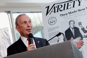 """New York Mayor Michael Bloomberg attends Variety's """"New York: Capital Of Content"""" during the 2013 Tribeca Film Festival on April 24, 2013 in New York City."""