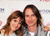Actors Alexia Rasmussen and Robert Carlyle attend Day 4 of The Variety Studio during the 2012 Sundance Film Festival  held at Variety Studio At Sundance on January 24, 2012 in Park City, Utah.