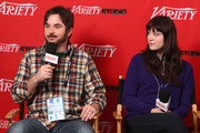 Director James Ponsoldt and actress Mary Elizabeth Winstead speak at Day 2 of the Variety Studio during the 2012 Sundance Film Festival held at Variety Studio At Sundance on January 22, 2012 in Park City, Utah.