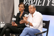 Hill Harper and Sharon Leal Photos Photo