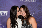 (L-R) Actress Ariel Winter and Shanelle Workman attend Variety and Women in Film Emmy Nominee Celebration powered by Samsung Galaxy on August 23, 2014 in West Hollywood, California.