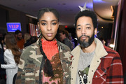 """Jessica Williams and Wyatt Cenac attend The """"Veep"""" Season 7 premiere after party at Alice Tully Hall, Lincoln Center on March 26, 2019 in New York City."""