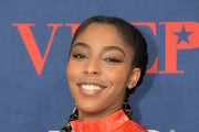 Jessica Williams attends the 'Veep' Season 7 premiere at Alice Tully Hall, Lincoln Center on March 26, 2019 in New York City.