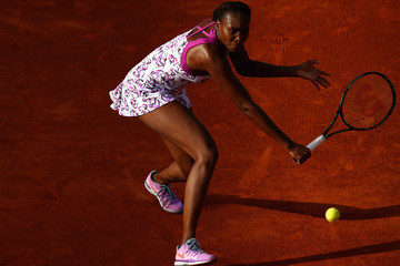 Venus Williams 2015 French Open - Day Two