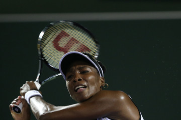 Venus Williams Sony Ericsson Open: Day 5