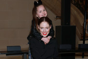 Coco Rocha and Ioni James Conran attend the Vera Wang fashion show during February 2020 - New York Fashion Week on February 11, 2020 in New York City.