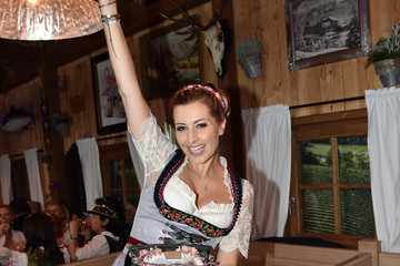 Verena Kerth Celebrities Hang out at Oktoberfest 2015 - Day 1