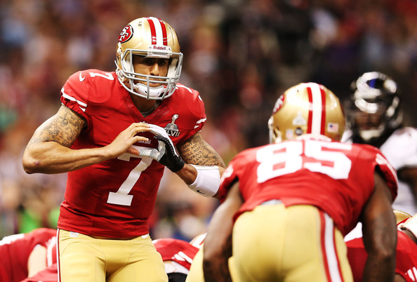 Vernon Davis and Colin Kaepernick Photos - 19 of 23. Super Bowl XLVII -  Baltimore ... b5c47ef39