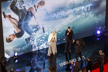 Veronica Roth 'Insurgent' Premieres in London