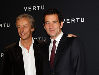 Clive Owen Perry Oosting Vertu Global Launch Of The 'Constellation' In Milan - Arrivals