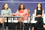 (L-R) Vanessa Williams, Star Jones and Camille Guaty of VH1's Daytime Diva's attend the Viacom Winter TCA Panels and Party on January 13, 2017 in Pasadena, California.