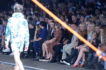 Vic Reeves Hunter Original - Runway - LFW SS16
