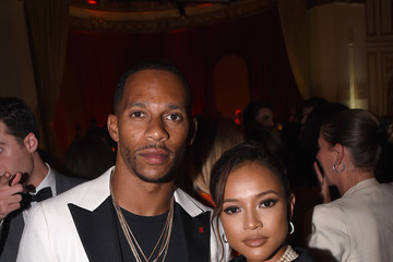 Victor Cruz Karrueche Tran Moët & Chandon Toasts To The Icons At Harper's BAZAAR ICONS Party 2019 In New York City