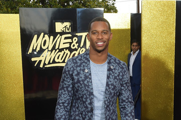 Victor Cruz 2017 MTV Movie and TV Awards - Red Carpet