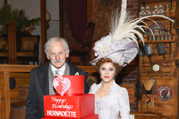 Victor Garber Bernadette Peters Celebrates Birthday On-Stage At Broadway's 'HELLO, DOLLY!'