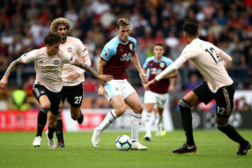 Victor Lindelof Burnley FC vs. Manchester United - Premier League
