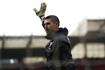 Victor Valdes Middlesbrough v Manchester City - The Emirates FA Cup Quarter-Final