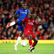 VictorMoses Liverpool v Chelsea - Carabao Cup Third Round