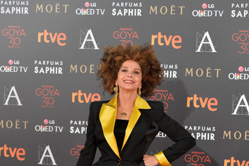 Victoria Abril Goya Cinema Awards 2016 - Red Carpet